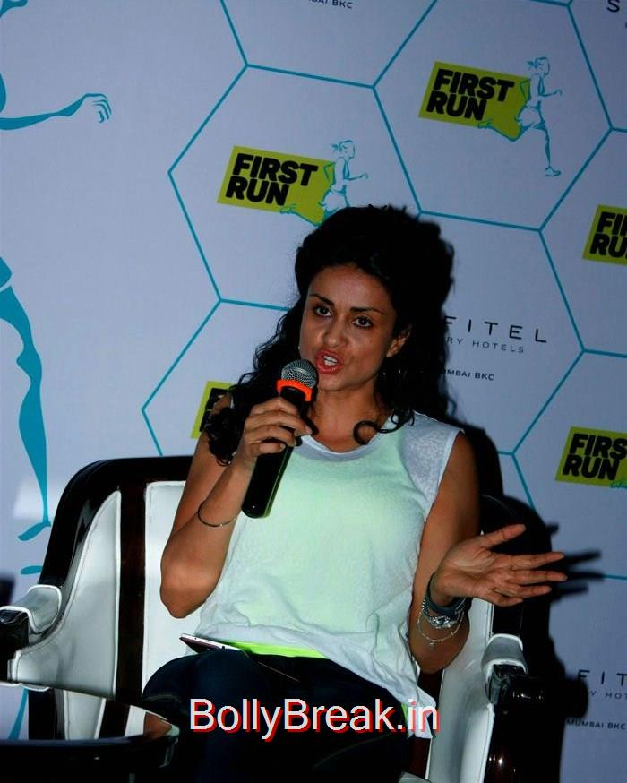 Gul Panag Launches MobileFit's First Run Fitness App, Gul Panag Hot Pics At MobileFit's First Run Fitness App Photo Gallery
