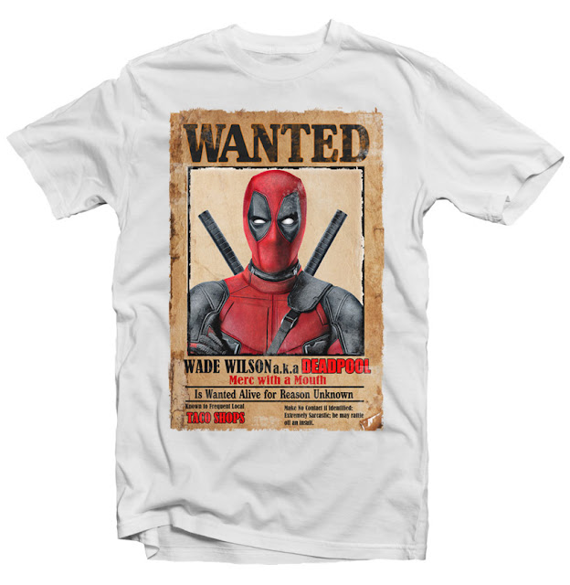 deadpool tshirt design