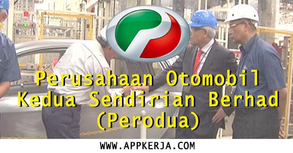 Temuduga Terbuka di Perodua Malaysia