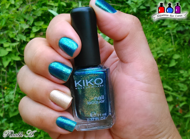 KIKO, 532 Pearly Amazon Green, 497 Pearly Indian Violet, 06 Exciting Dark Brown, Texturizado, Metálico, Nail Art, Verde, Roxo, Raabh A,