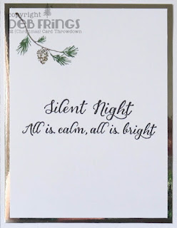 Silent Night inside - photo by Deborah Frings - Deborah's Gems