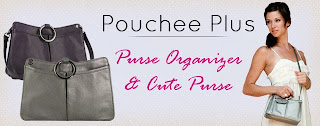 Enter to a Pouchee Plus purse organizer, ends 8/29