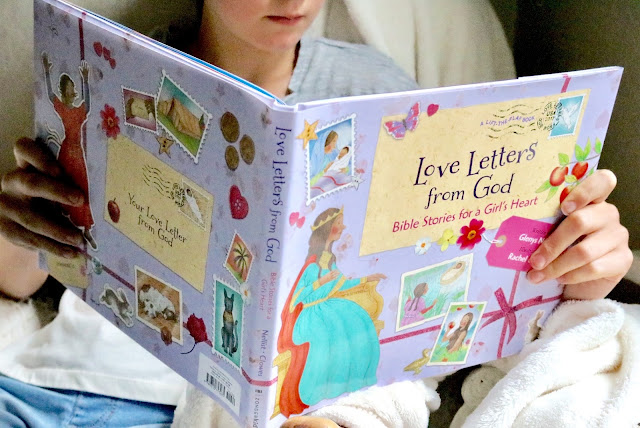 Love Letters from God - Bible Stories for a Girl's Heart