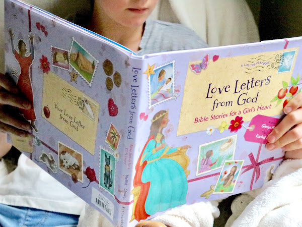 Love Letters from God Bible Stories for a Girl's Heart | Book Review