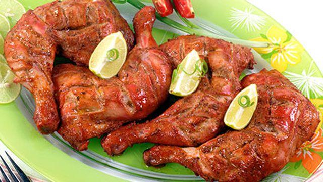 تحضير افخاد الدجاج على الطريقة الهندية : المكونات والوصفة