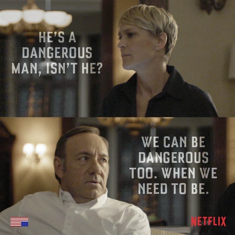 The Intersections & Beyond: HOUSE OF CARDS Season 3 on RTL