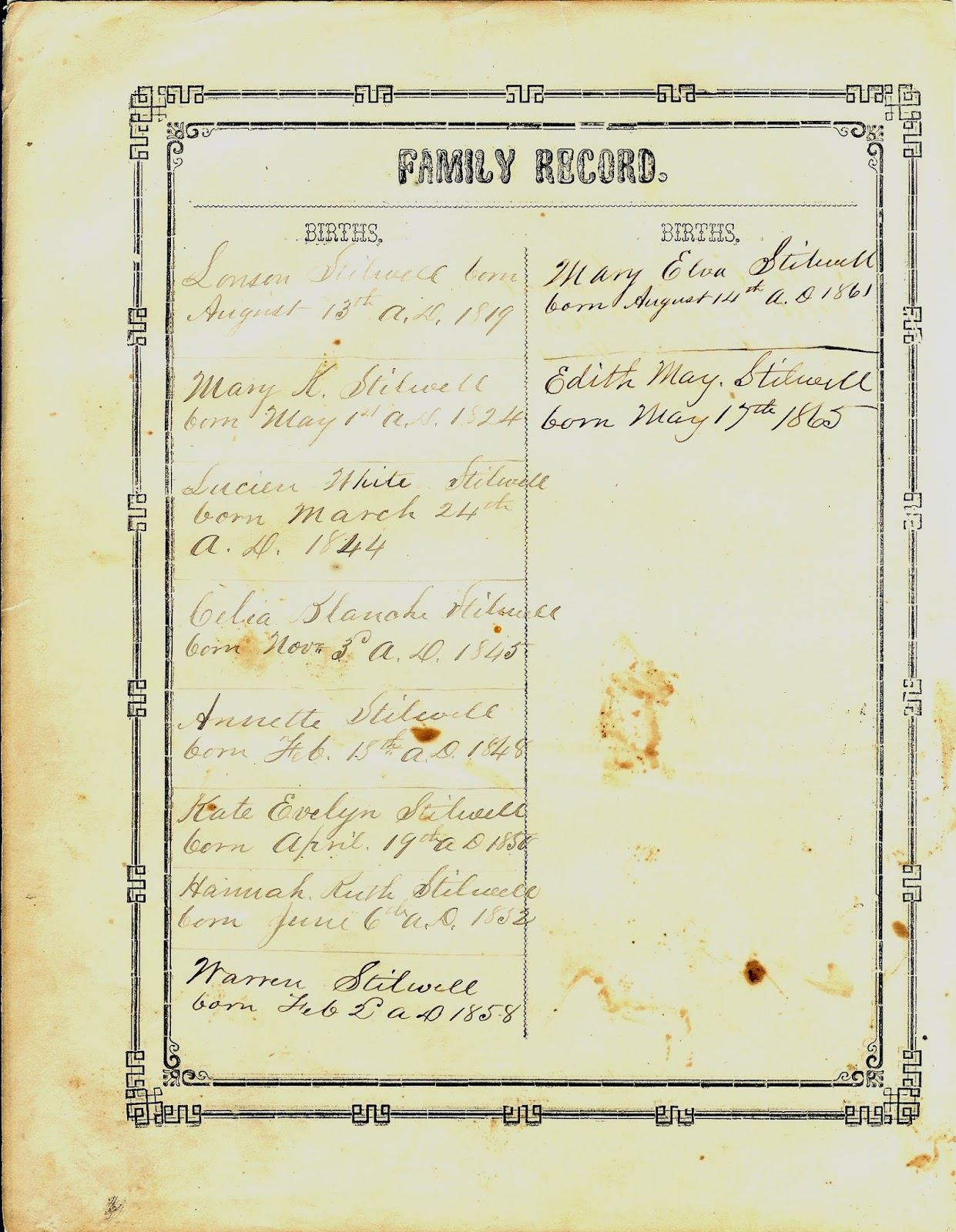 Allen County Genealogical Society of Indiana