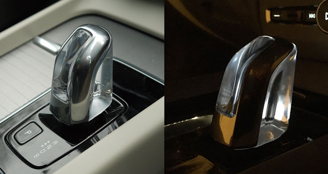 Volvo XC60 T8 crystal glass gearshift