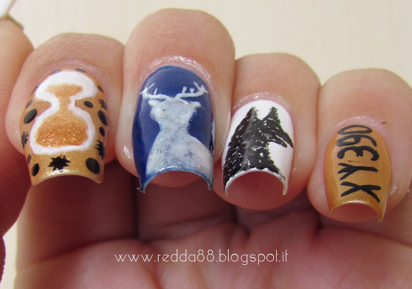 Harry Potter and the prisoner of Azkaban nail art