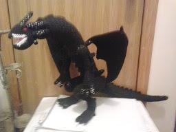 PATRON GRATIS BLACK DRAGON | YU-GI-OH AMIGURUMI 38375