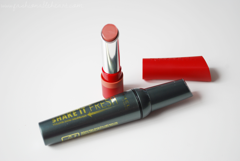 bbloggers, bbloggersca, canadian beauty bloggers, beautyblogger, rimmel, rimmel london, shake it fresh mascara, mascara, shake it, the only 1 matte, trendsetter, lipstick, swatches, review, lips