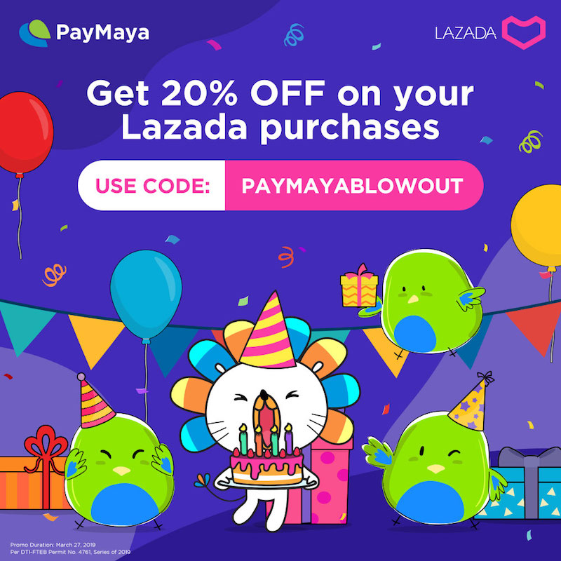 Get 20 percent off with PAYMAYABLOWOUT code!