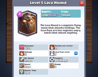 lava hound in clash royale