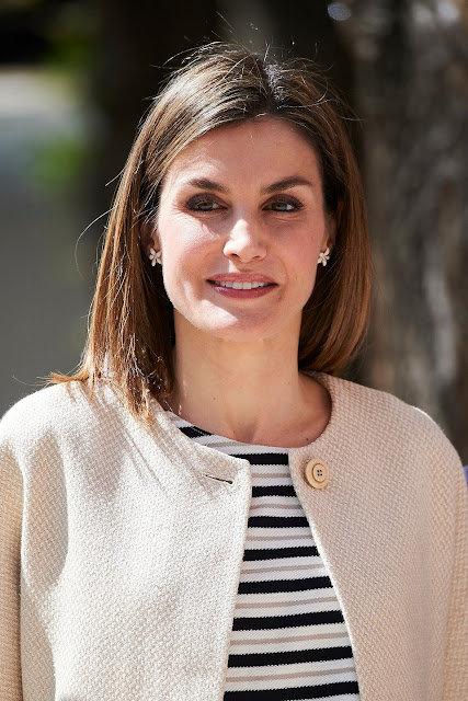 Queen Letizia attends the meeting of the Princess of Girona Foundation Award 2016