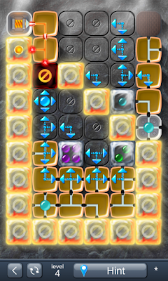 Solution for Laser Box - Puzzle (Final) Level 4