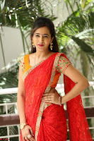 Lasya Cute Beauty in Saree Backless Choli at her Interview ~  Exclusive 078.JPG