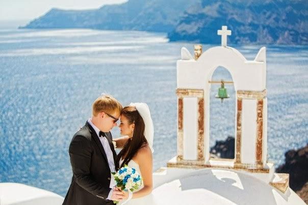 Santorini wedding svadba