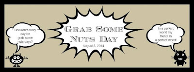 Grab Your Nuts Day | Cravings of a Lunatic | featured on www.BakingInATornado.com