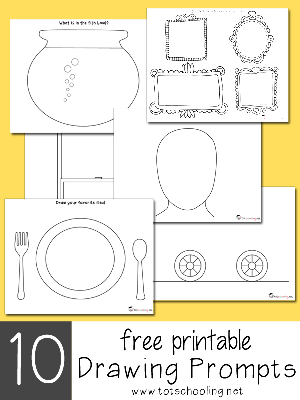 4 Art Journal Prompts for Kids