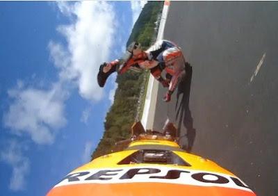 Marquez Kecelakaan dan Dislokasi Bahu di FP3 GP Austria