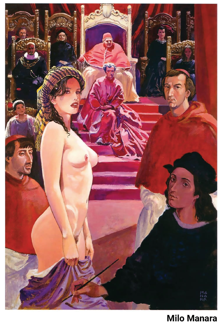 RAFAELLO IN ATHENS [BY MILO MANARA-IN ZIVAS ART GALLERY 12/20]