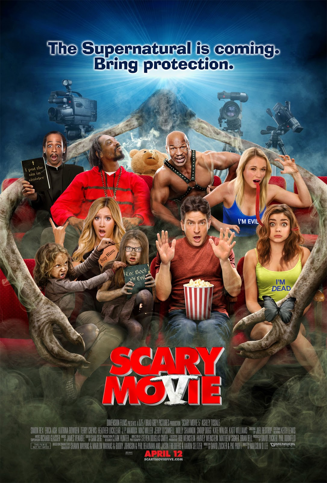 Daniel On Film Scary Movie 5