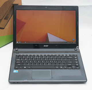 Jual Laptop bekas Acer Aspire 4739 core i3