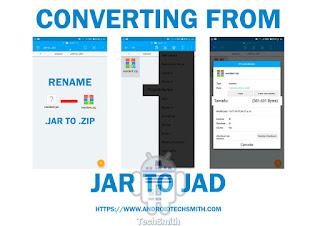 Convertir JAR a JAD