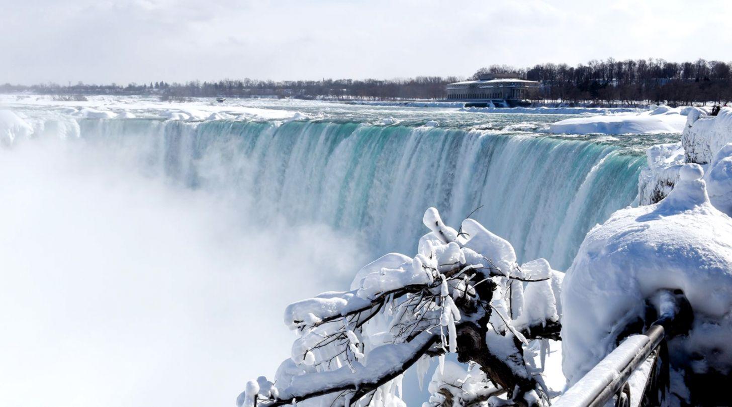 Niagara Falls Frozen Wallpaper Info Wallpapers