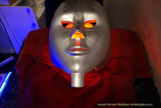 LED mask,spa kuantan,Menggebukan kulit,buang kulit kusam