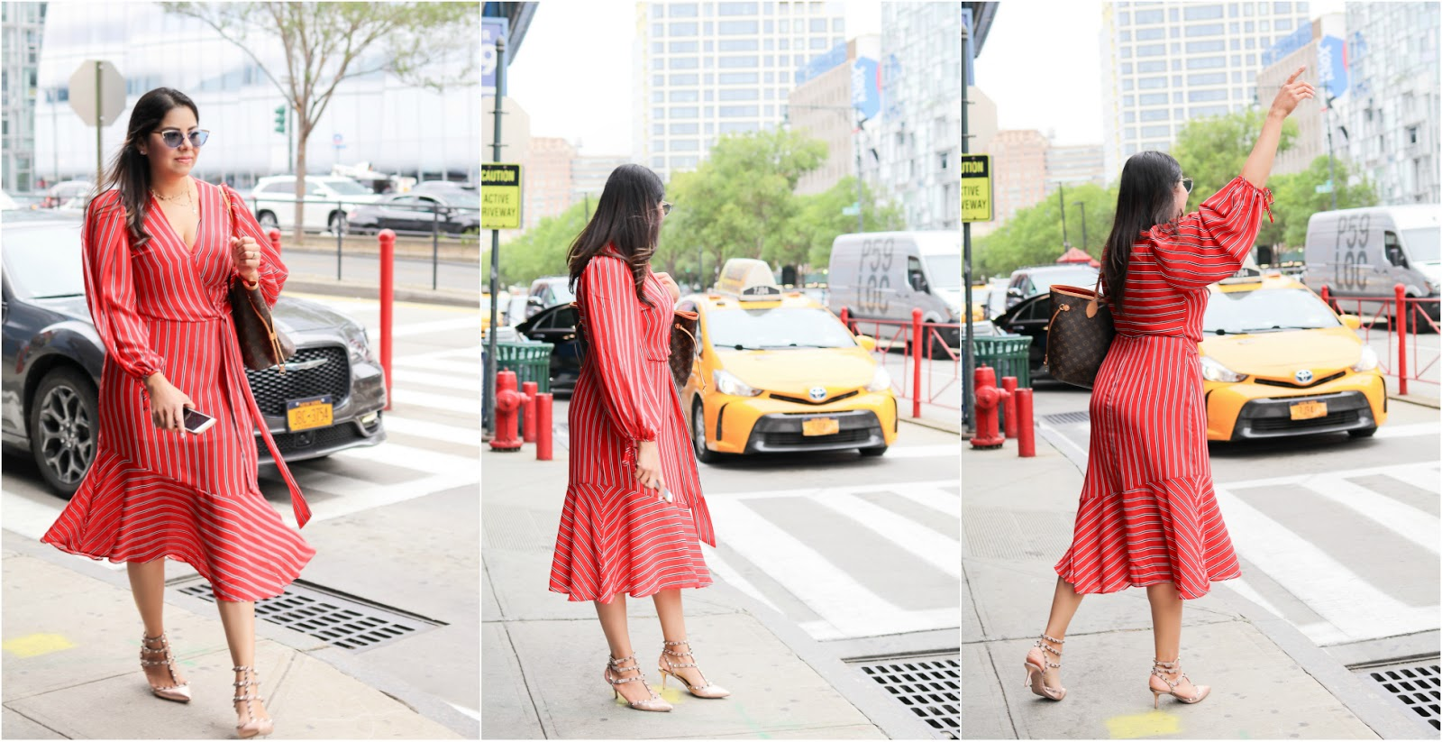 In a NYFW minute, NYFW street style, chic NYFW street style