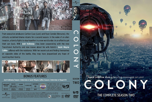 Colony Season 2 DVD Cover