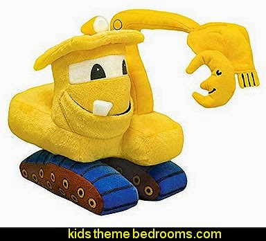 MerryMakers Goodnight, Goodnight, Construction Site Plush Toy