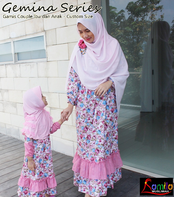 Info Seputar Hijab By Kamila Muslimah Tips Memilih Gamis Couple Ibu