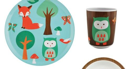 My Owl Barn Dinnerware Sets For Kids