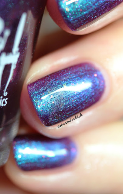 Girly Bits Law of Attraction Rainbow Hematite Nail Polish
