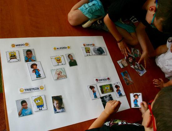 Actividad de educación emocional: identificar emociones
