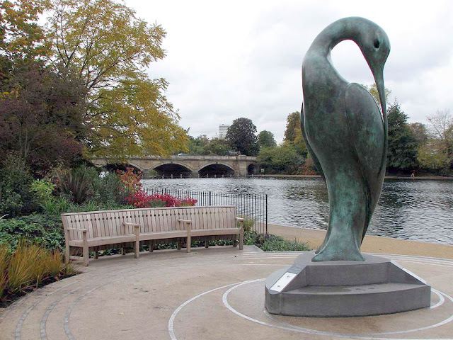 Isis by Simon Gudgeon, Hyde Park, London
