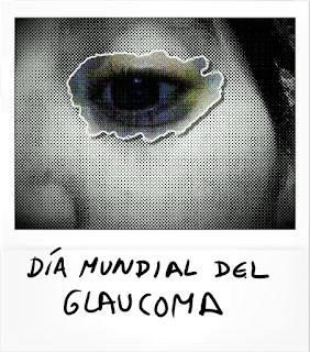 Imagen de parte de la cara en blanco y negro y con un ojo rodeado por una estela