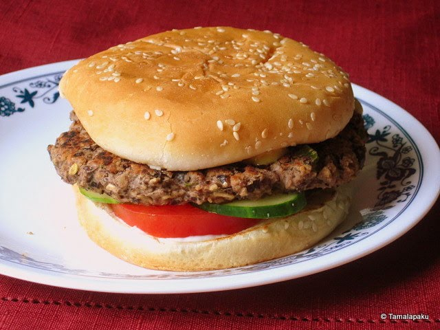 Vegan Black Bean Burger