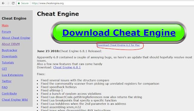 تحميل برنامج شيت انجن Cheat Engine آخر اصدار للكمبيوتر - تهكير أي لعبة