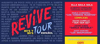 Boletos Festival Revive 80s y 90s Tour Mexico 2019 en primera fila