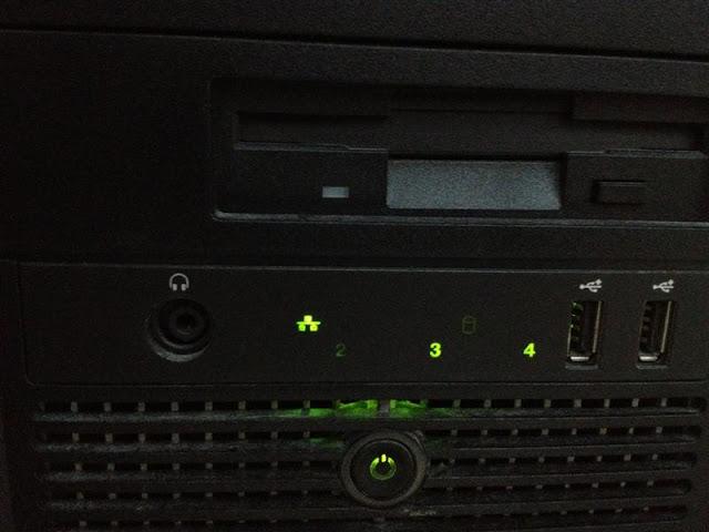 Dell Optiplex 380 ไฟเลข 3 กับเลข 4 ติดค้าง - ClubNSO