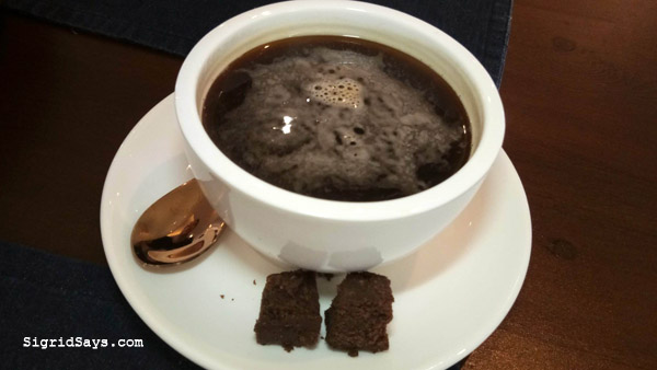 Bacolod restaurants - Anne Bistro PH - brewed coffee