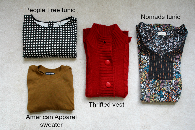 fair trade capsule wardrobe