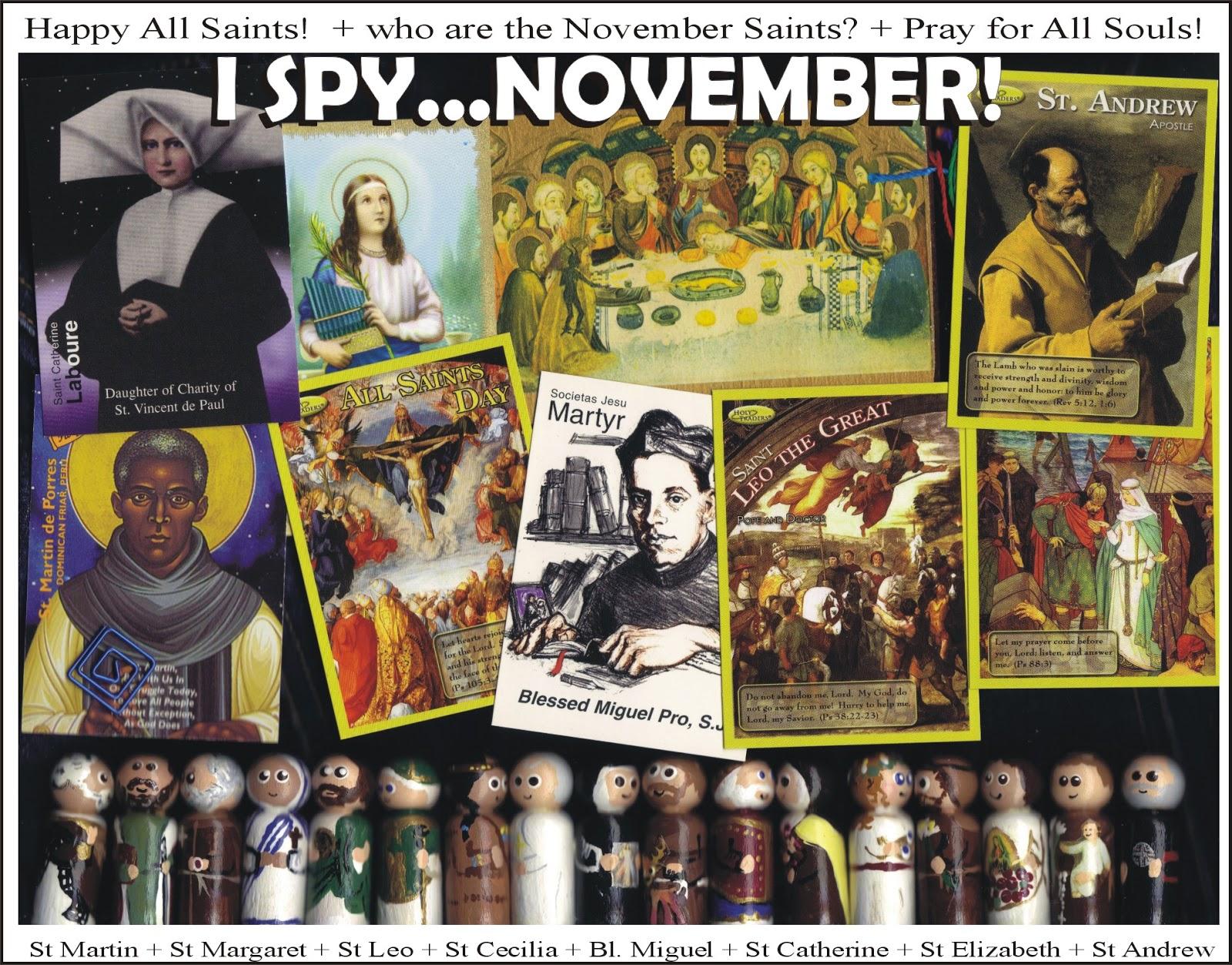 I Spy L Saints In November