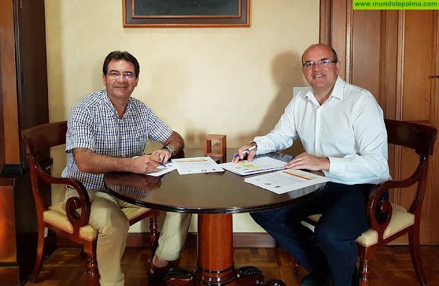 El Cabildo y el Ayuntamiento impulsan la creación de viviendas públicas y de un vivero de empresas en Puntallana