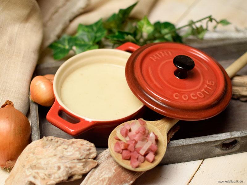 Rezept für eine leckere Blumenkohlsuppe, einfache Suppe Rezept