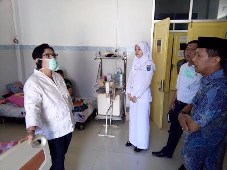 Irma Suriyani Tinjau RSUD Kayuagung