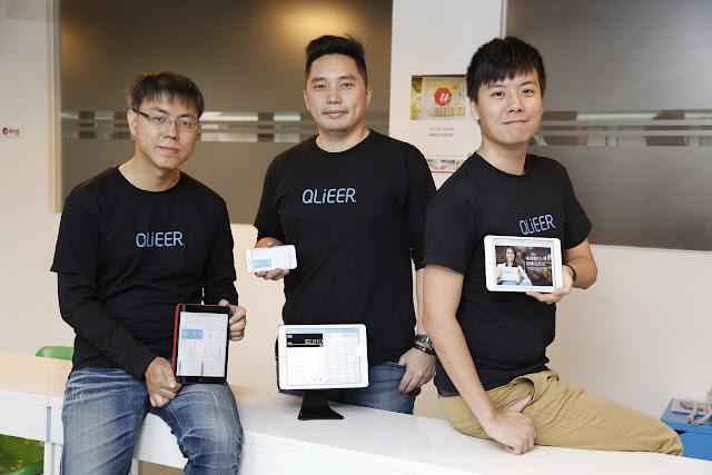 (圖說:曜比科技團隊,解武祥(左)資深後端工程師、盧俊揚(中)執行長、蔡學欣(右)技術長。攝影:侯俊偉。)